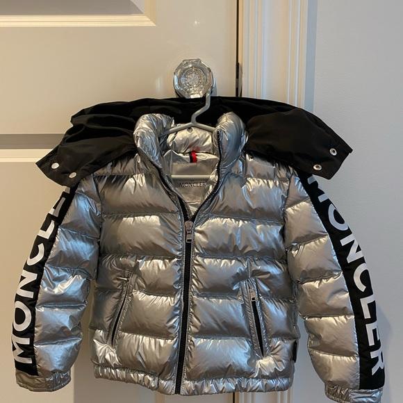 Moncler Silver down jacket